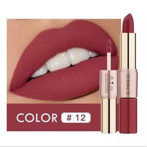 2 in 1 Waterproof Matte Lipstick 💄 10175